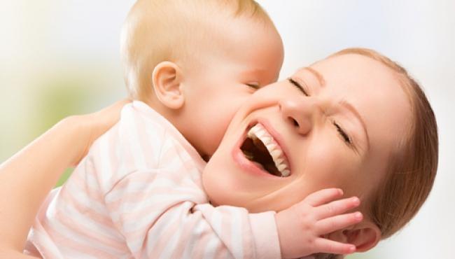 niemowlę, dziecko, mama, miłość