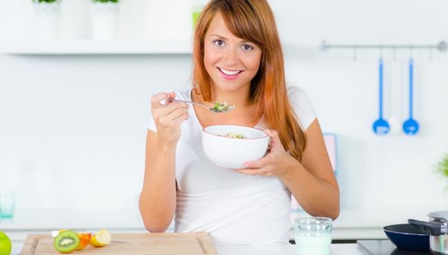 owsianka, dieta, kobieta
