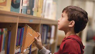 księgarnia, biblioteka, dziecko, książki