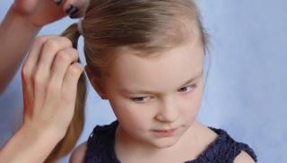 wszy, włosy, pielęgnacja włosów, dziewczynkna